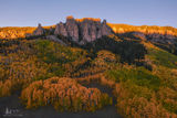 silver jack, autumn, silver, Cimmaron Range, aspen, gold, mine, crags, rocks, color