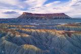 badlands, Utah, textures, patterns, shapes, colors, western, aerial