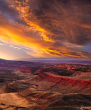 Lander, Wyoming, Red Canyon, sunset, sky, big sky,