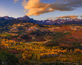 Mount Sneffels, Colorado, fall, nature,