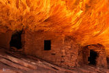 Bears Ears National Monument, ruin,Ancestral Puebloans, rock art, cliff dwelling, house on fire