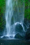 Elowah Falls, Columbia gorge, falls, Oregon, wind, danced