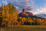 Chimney Rock, ridgway, colorado, cimarron ridge, true grit, San Juan Mtn, fall