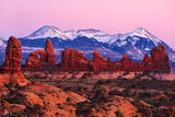 Arches National Park, Utah, glow, sunset, amazing glow, red, rocks,