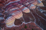 Paria Canyon-Vermilion Cliffs Wilderness, Arizona, mounds, aerial, giant