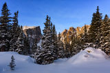 Rocky Mountain National Park, Colorado, winter, park
