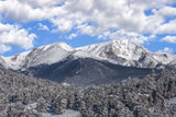 Rocky Mountain National Park, Colorado, snow, storm, white out