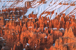 Spires On Fire print