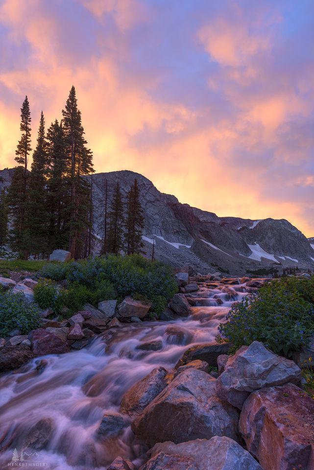Snowy Range, Wyoming, storm, evening, gorgeous light, mountain,