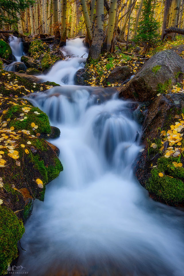 Rocky Mountain National Park, Colorado, fall, brook, boulder brook,