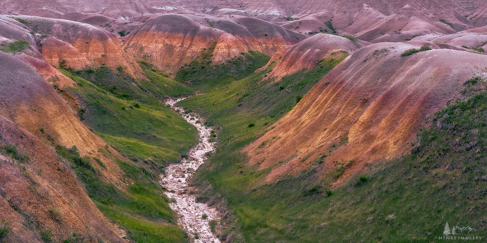 badlands, badlands national park, national park, sea, soils, geology, yellow mounds, weathered