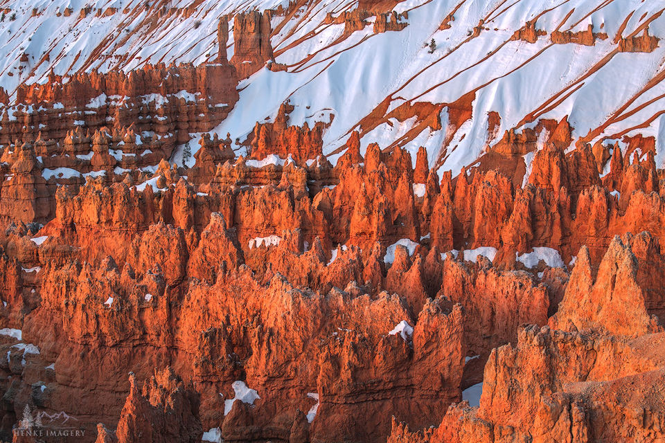 Spires On Fire