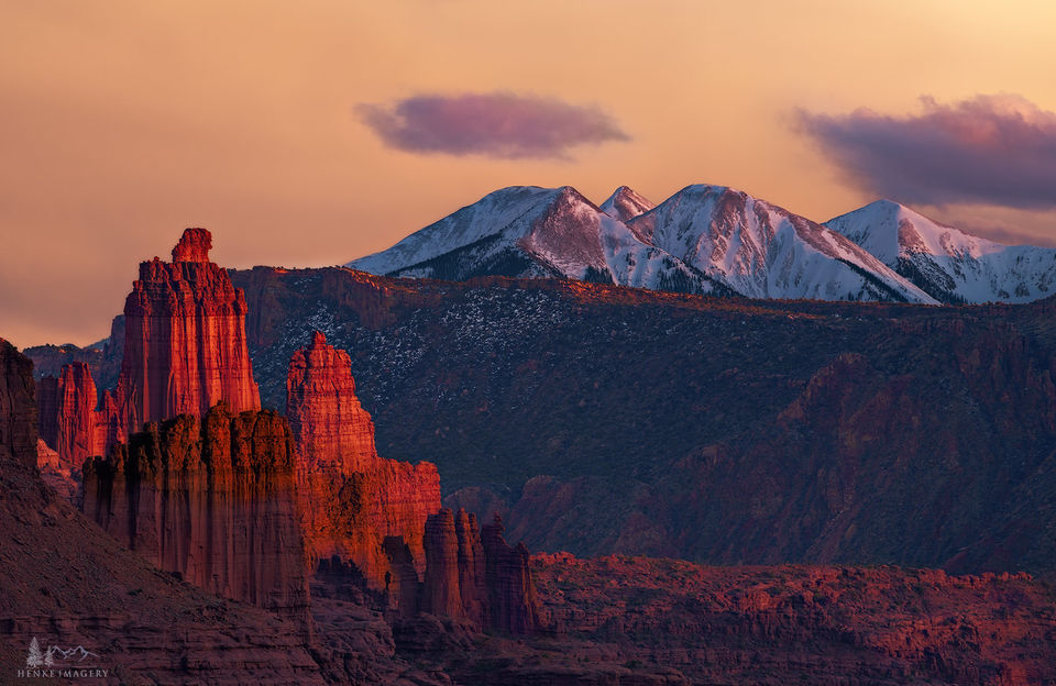 Fisher Towers, Utah, rock, titan, giants