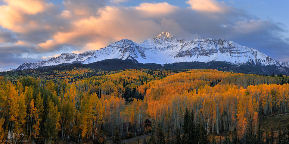 Telluride, Colorado, fall, Mt Wilson, crown jewel, San Juan Mtns