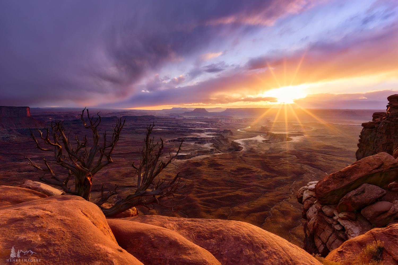 Canyonlands National Park, Utah, star, desert, national park, November, rocks, , photo