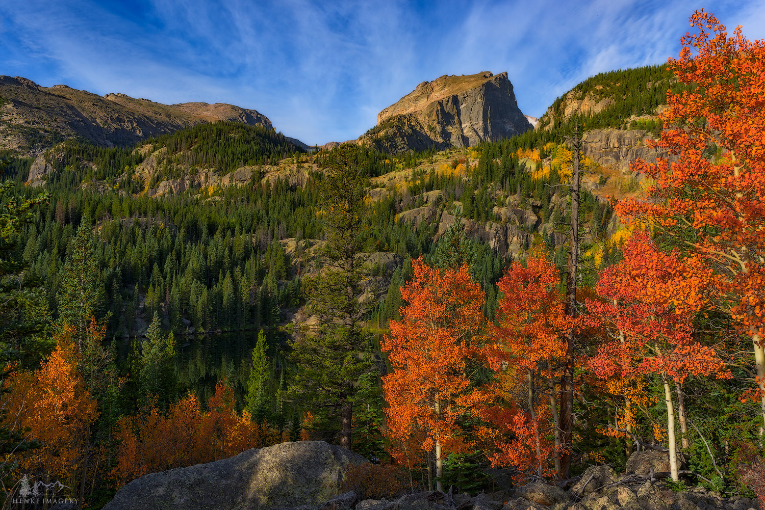 Rocky Mountain National Park, Colorado, autumn, photo